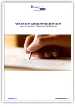 Guidelines on Writing Patent Specification